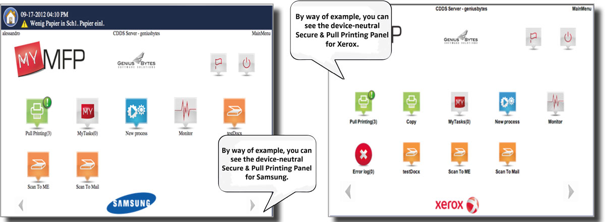 Secure + Pull Printing | Output Management | SEAL Systems