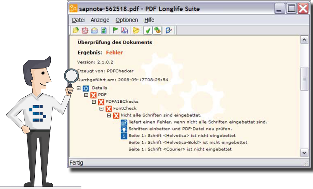 CPS-PDF-Longlife-Suite Conversion to PDF/A
