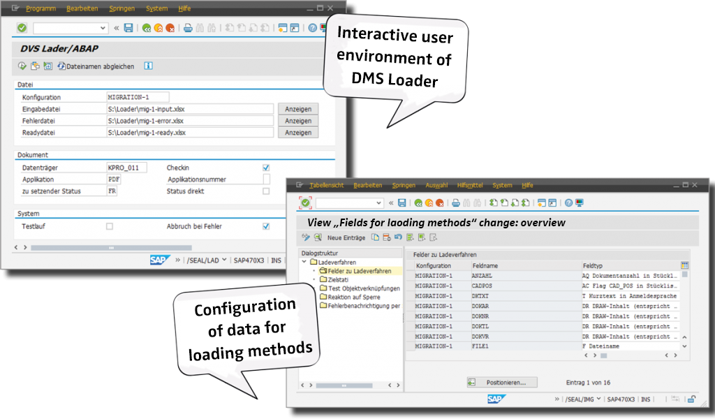 For Documents and Materials: The DMS Loader for SAP