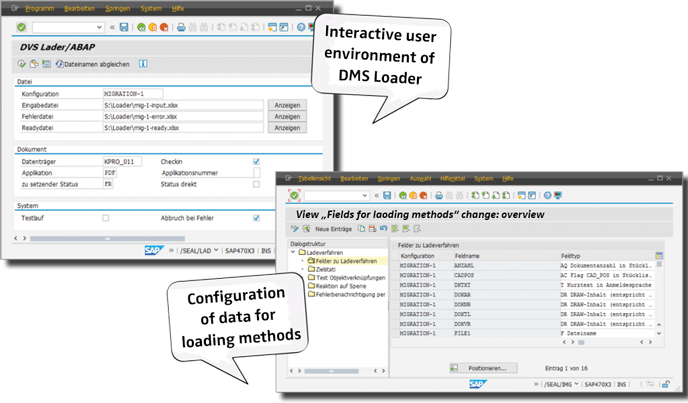 DVS-Lader-688px-en For Documents and Materials: The DMS Loader for SAP