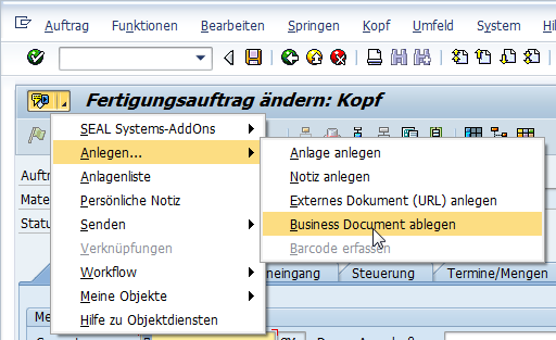 Dienste-zum-Objekt-07 Wie kann ich mit Object Services Dokumente in Business Document Services (BDS) nach SAP verlinken?