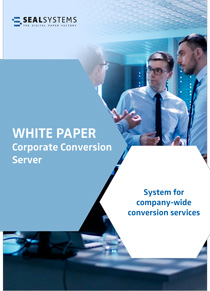 Title-Whitepaper-Conversion-Server White paper: System for companywide conversion services